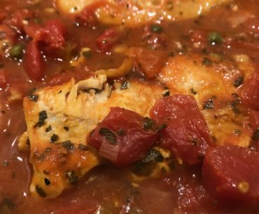 chicken with capers and tomatoes